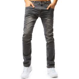 BASIC Šedé pánské kalhoty (ux1792) Velikost: 30