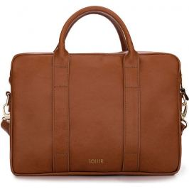 SOLIER Dámská kožená hnědá taška (FL10 DULCE VINTAGE BROWN) Velikost: univerzální