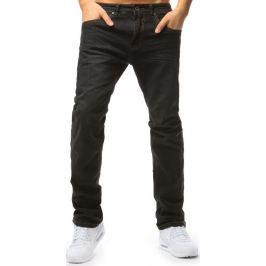 BASIC Černé pánské džínové kalhoty (ux1795) Velikost: 33