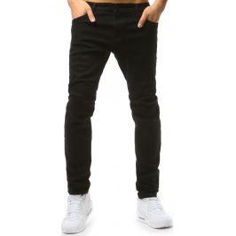 BASIC Černé pánské riflové kalhoty (ux1796) Velikost: 35