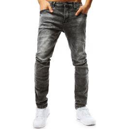BASIC Grafitové pánské džínové kalhoty (ux1801) Velikost: 29