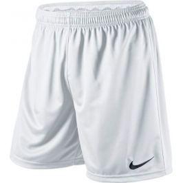 Bílé kraťasy NIKE Park Knit Short Junior 448263-100 velikost: L, odstíny barev: bílá