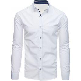 BASIC Bílá pánská košile  (dx1705) Velikost: XL
