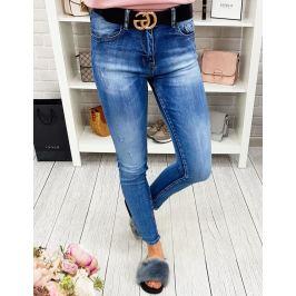 BASIC Dámské džínové kalhoty (uy0172) Velikost: XS