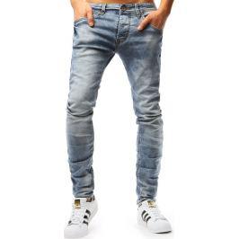 BASIC Světle modré pánské džíny (ux1806) Velikost: 30