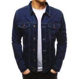 BASIC Tmavě modrá džínová bunda  (tx2615) Velikost: S