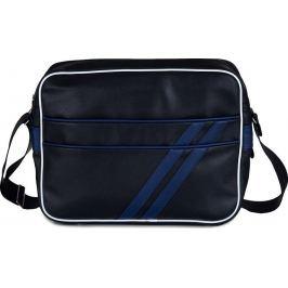 SOLIER Pánská černá crossbody taška (MS2 BLUE) Velikost: univerzální