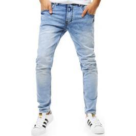 BASIC Pánské světlé džíny (ux1829) Velikost: 28
