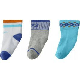 Barevné ponožky NIKE Gift Pack 3pak Kids SX4812-923 velikost: 18-22, odstíny barev: barevná