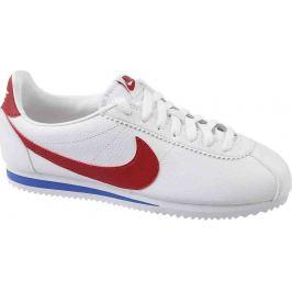 Nike BIELE ŠPORTOVÉ TOPÁNKY Classic Cortez (749571-154) Velikost: 40