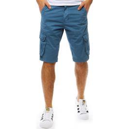 BASIC Bavlněné modré šortky (sx0810) Velikost: 28