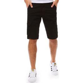 BASIC Bavlněné černé šortky (sx0811) Velikost: 28