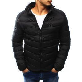 BASIC Pánská prošívaná černá bunda (tx1818) velikost: 2XL, odstíny barev: černá