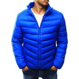 BASIC Pánská prošívaná modrá bunda (tx1820) velikost: 2XL, odstíny barev: modrá
