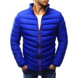 BASIC Pánská prošívaná modrá bunda (tx1822) Velikost: 2XL