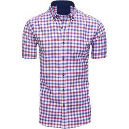 BASIC Kostkovaná pánská košile (kx0894) Velikost: M