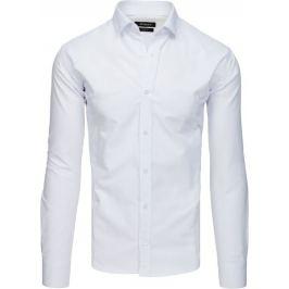 BASIC Bílá pánská košile (dx1728) Velikost: 2XL