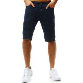 BASIC Tmavě modré pánské šortky (sx0732) Velikost: 30