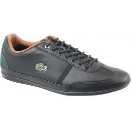 Černá sportovní obuv LACOSTE Misano Sport CAM004602H velikost: 40.5, odstíny barev: černá
