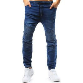 BASIC Modré pánské jogger kalhoty (ux1777) Velikost: M