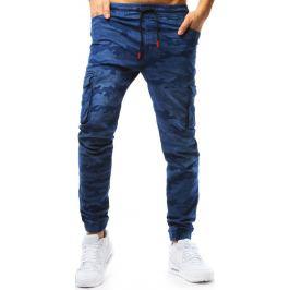 BASIC Modré pánské jogger kalhoty  (ux1781) Velikost: M