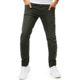 BASIC Khaki pánské džínové kalhoty(ux1856) Velikost: 30