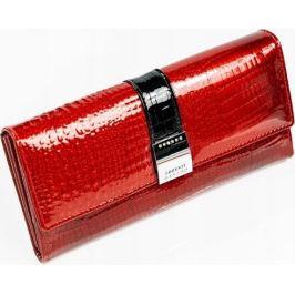 LOREN Červená elegantní peněženka HQ 176B-2C-RED Velikost: univerzální