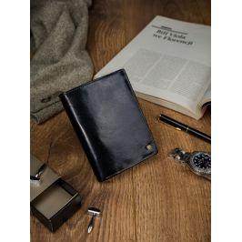 ROVICKY černá kožená pánská peněženka N104-RVT BLACK Velikost: univerzální
