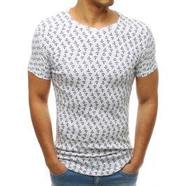 BASIC Bílé pánské tričko s potiskem (rx3427) Velikost: 2XL