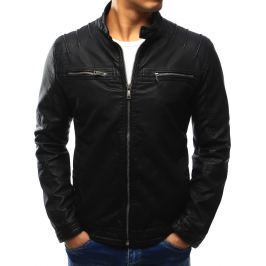 BASIC Pánská černá bunda (tx1858) velikost: 2XL, odstíny barev: černá