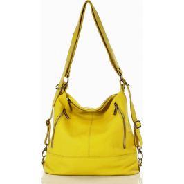 MAZZINI Žlutá městská kabelka MARCO (s186e) Velikost: univerzální