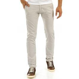 BASIC Elegantní béžové kalhoty (ux0878) Velikost: 29