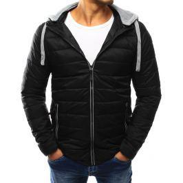 BASIC Pánská černá prošívaná bunda (tx1861) velikost: 2XL, odstíny barev: černá