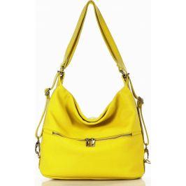 Žlutá dámská kabelka MARCO MAZZINI (s214a) Velikost: univerzální