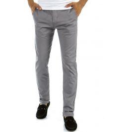 BASIC Elegantní šedé kalhoty (ux0875) Velikost: 29