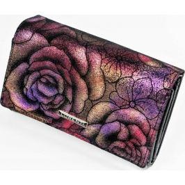 Lorenti peněženka s fialovo-růžovým motivem 76112 Velikost: univerzální