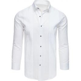 BASIC Bílá košile k obleku (dx1739) Velikost: M