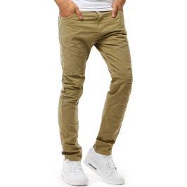 BASIC Pánské béžové kalhoty (ux1896) Velikost: 29