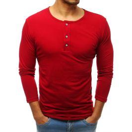 BASIC Červené pánské tričko (lx0490) Velikost: M