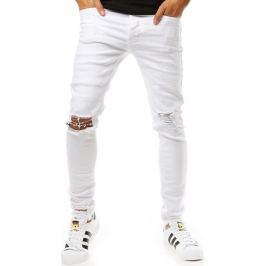 BASIC Bílé džíny (ux1927) Velikost: 30