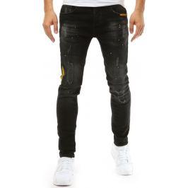 BASIC Pánské černé džíny (ux1877) Velikost: 28