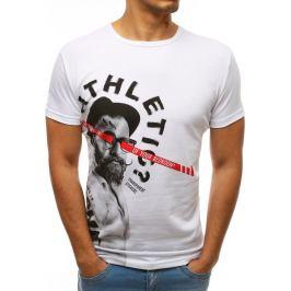 BASIC Bílé tričko s potiskem (rx3507) Velikost: S