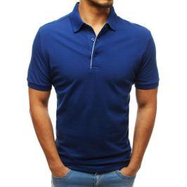 BASIC Pánské polo tričko modré (px0177) Velikost: L