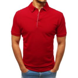 BASIC Pánské polo tričko červené (px0178) Velikost: L