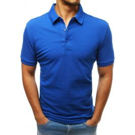 BASIC Pánské polo tričko modré (px0180) Velikost: L