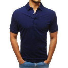 BASIC Pánské polo tričko modré (px0181) Velikost: XL