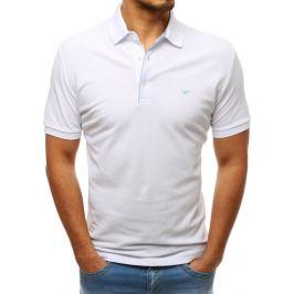 BASIC Pánské polo tričko bílé (px0182) Velikost: 2XL