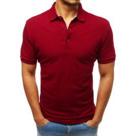 BASIC Pánské bordó polo tričko  (px0183) Velikost: M