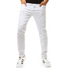 BASIC Bílé pánské džíny (ux1945) Velikost: 29