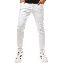 BASIC Bílé pánské džíny (ux1946) Velikost: 29